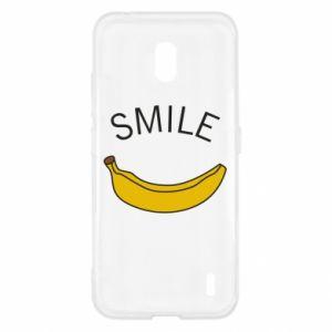 Etui na Nokia 2.2 Banana smile