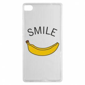 Etui na Huawei P8 Banana smile