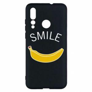 Etui na Huawei Nova 4 Banana smile