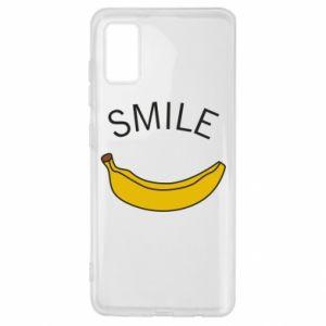 Etui na Samsung A41 Banana smile