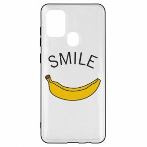 Etui na Samsung A21s Banana smile
