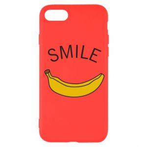 Etui na iPhone SE 2020 Banana smile