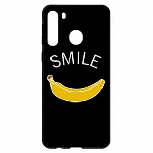 Etui na Samsung A21 Banana smile