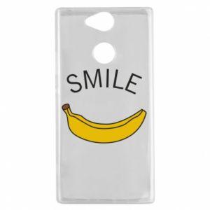 Etui na Sony Xperia XA2 Banana smile