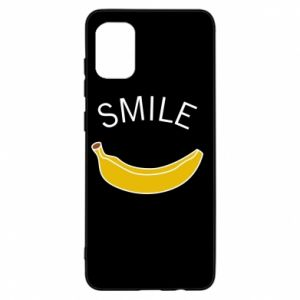 Etui na Samsung A31 Banana smile