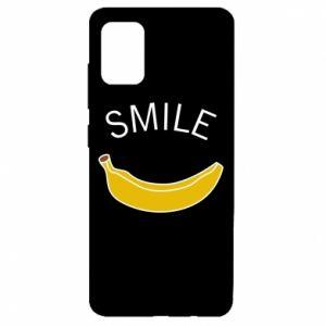 Etui na Samsung A51 Banana smile