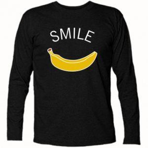 Koszulka z długim rękawem Banana smile
