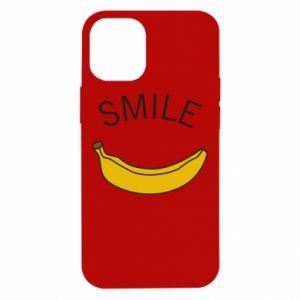 Etui na iPhone 12 Mini Banana smile