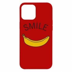 Etui na iPhone 12 Pro Max Banana smile