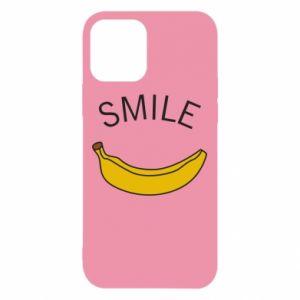 Etui na iPhone 12/12 Pro Banana smile
