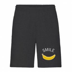 Męskie szorty Banana smile