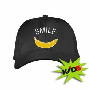 Dziecięca czapeczka z daszkiem Banana smile