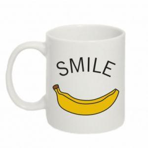 Kubek 330ml Banana smile