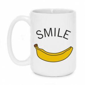 Kubek 450ml Banana smile