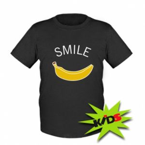 Kids T-shirt Banana smile