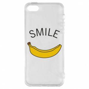 Etui na iPhone 5/5S/SE Banana smile