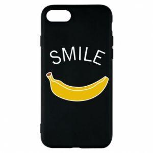Etui na iPhone 7 Banana smile