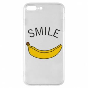 Etui na iPhone 7 Plus Banana smile