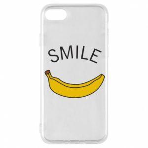 Etui na iPhone 8 Banana smile