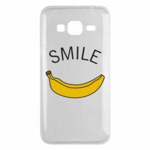 Etui na Samsung J3 2016 Banana smile