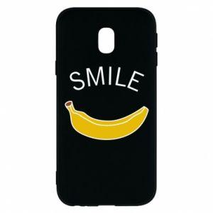 Etui na Samsung J3 2017 Banana smile