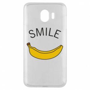 Etui na Samsung J4 Banana smile