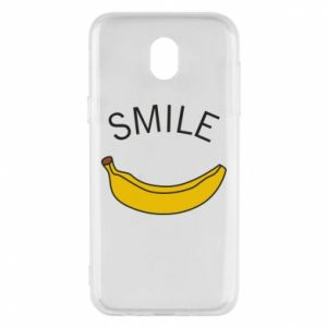 Etui na Samsung J5 2017 Banana smile