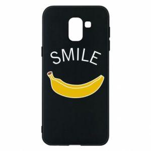 Etui na Samsung J6 Banana smile