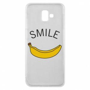 Etui na Samsung J6 Plus 2018 Banana smile
