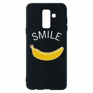 Etui na Samsung A6+ 2018 Banana smile