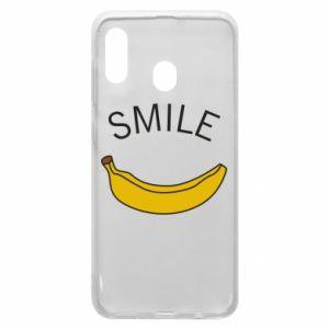 Etui na Samsung A30 Banana smile
