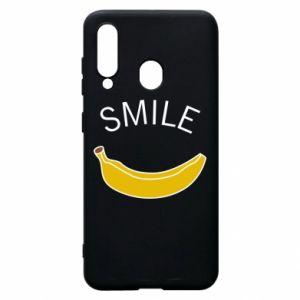 Etui na Samsung A60 Banana smile