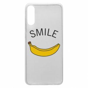 Etui na Samsung A70 Banana smile