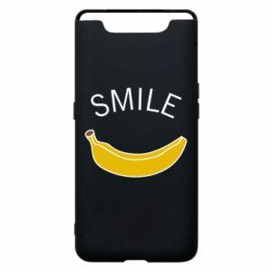 Etui na Samsung A80 Banana smile