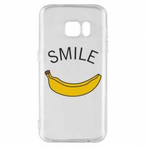 Etui na Samsung S7 Banana smile