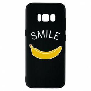 Etui na Samsung S8 Banana smile