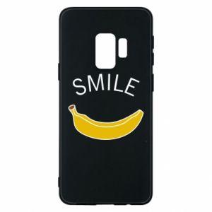 Etui na Samsung S9 Banana smile