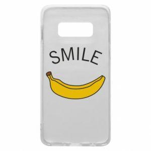 Etui na Samsung S10e Banana smile