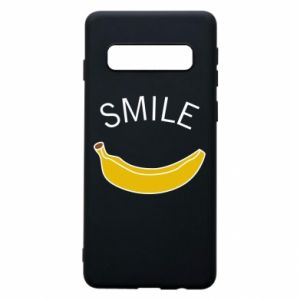 Etui na Samsung S10 Banana smile