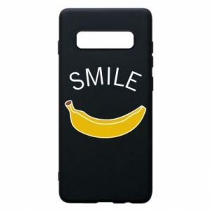 Etui na Samsung S10+ Banana smile