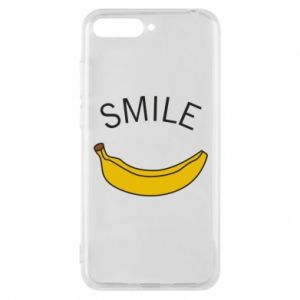 Phone case for Huawei Y6 2018 Banana smile