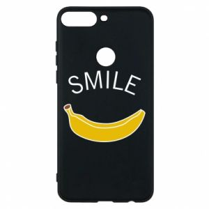 Etui na Huawei Y7 Prime 2018 Banana smile