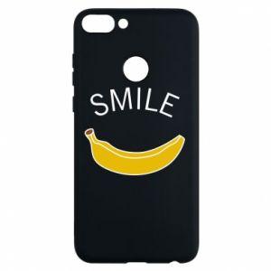 Etui na Huawei P Smart Banana smile