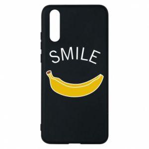 Etui na Huawei P20 Banana smile