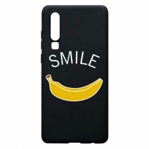 Etui na Huawei P30 Banana smile