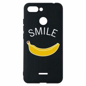 Etui na Xiaomi Redmi 6 Banana smile