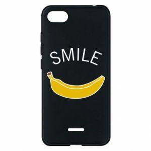 Etui na Xiaomi Redmi 6A Banana smile