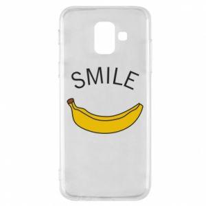 Etui na Samsung A6 2018 Banana smile