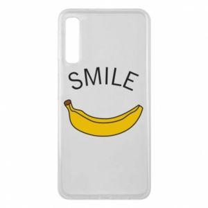Etui na Samsung A7 2018 Banana smile