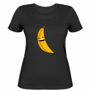 Women's t-shirt Banana smile stars